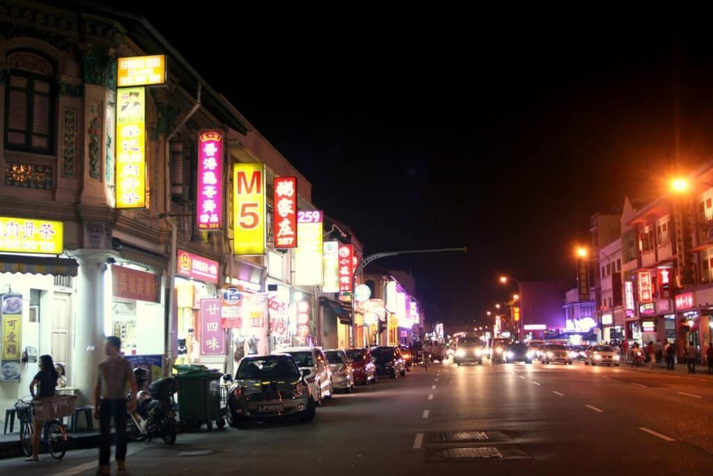 シンガポールの夜遊びはゲイランの置屋が効率がいい!