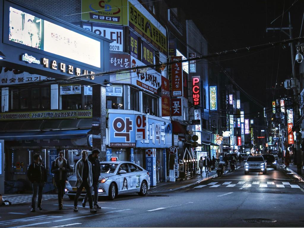 釜山の風俗で駅近くの中華街にいるロシア人