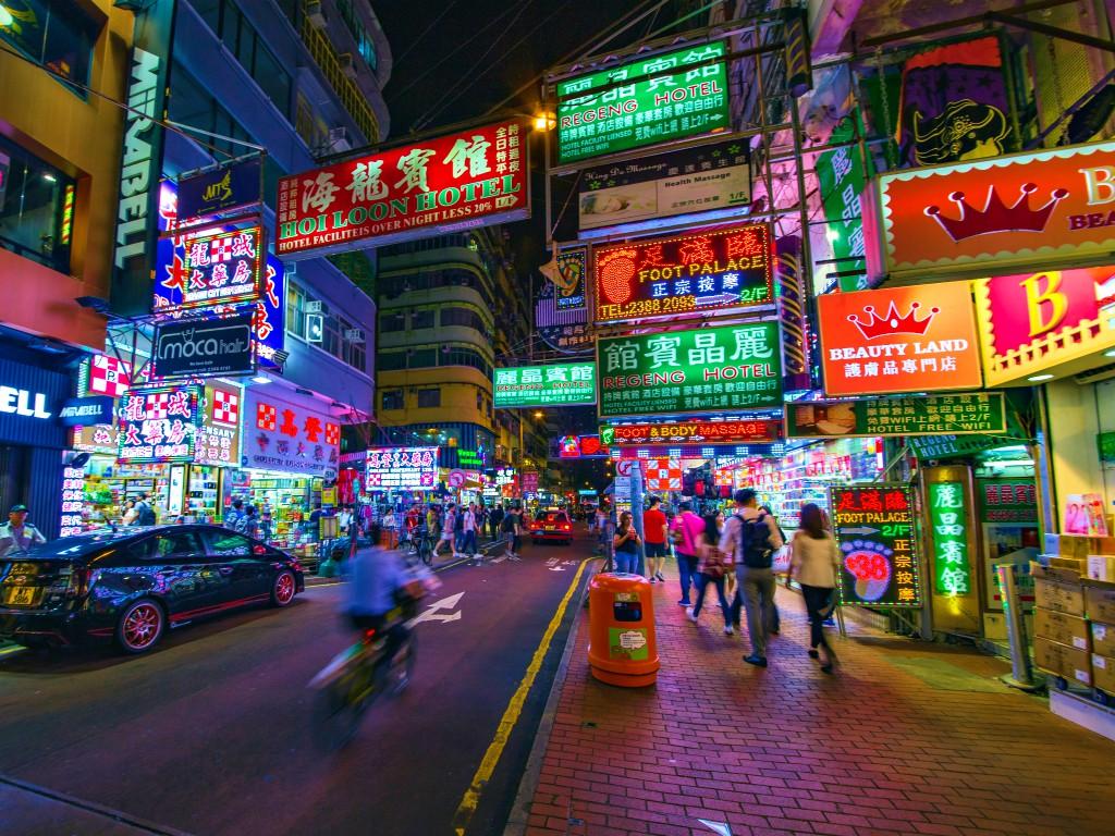 香港の風俗で香港141(ピンポンマンション)の建興大廈・香檳大廈B座・富士大廈
