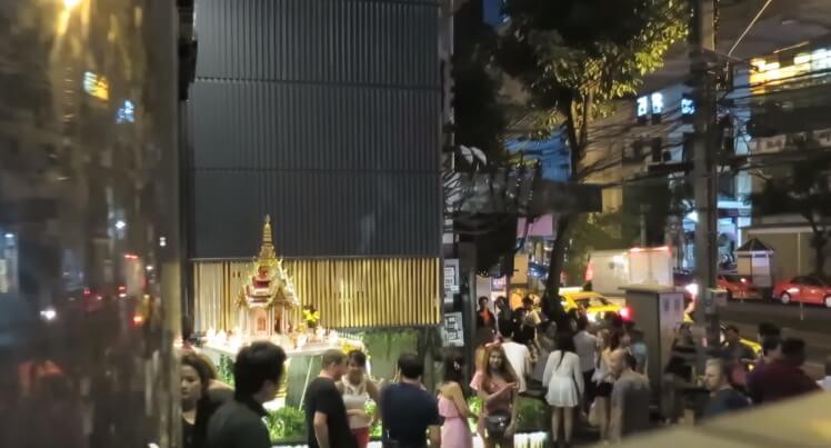 タイのバンコクの風俗でナナの援交カフェのテーメーカフェやたちんぼ、ロシア人置屋