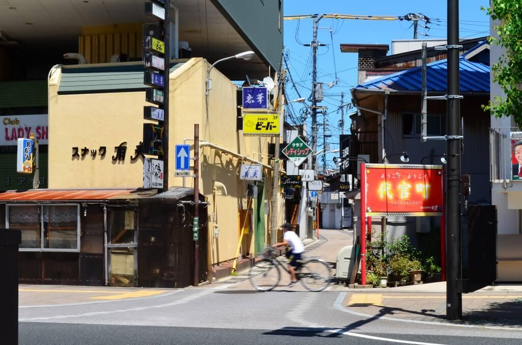 島根県松江市の風俗や夜遊びは少ない
